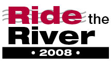 Ride the River 2008 Logo
